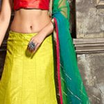 Wedding Lehenga: Indian Ethnic Bride Clothing.