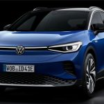The new Volkswagen ID.4 electric SUV