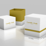 Rigid Boxes will be best for Candles for Logistics Operations