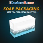 Get Customized Soap Packaging Boxes Wholesale at icustomboxes