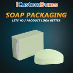 Get Creative Soap Packaging Boxes Wholesale at icustomboxes