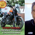 Interview with Sumeet Narang, President – Probiking, KTM and Husqvarna | autoX