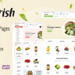 Best WordPress Theme for Food, Vegetable Shop, Makeup Products