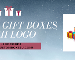 Custom gift boxes with logo Available in All Sizes & Shapes in USA