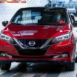 Nissan LEAF receives WiFi hotspot, blind spot assistant and digital interior mirror