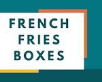 Custom Printed Personalized Branded french fries boxes in USA