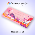 Custom Sleeve Packaging Boxes with Wholesale Prices