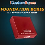 Buy Wholesale Foundation Boxes With Logo at iCustomBoxes