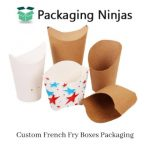 Get the special discount on Custom French Fry Boxes in the USA