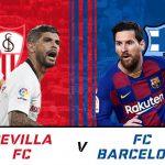 Prediksi Sevilla Vs Barcelona 11 Februari 2021