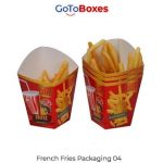 Get Custom French Fry Boxes wholesale at GoToBoxes