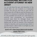 Reasons to Hire a Professional Motorcycle Accident Attorney in New Jersey